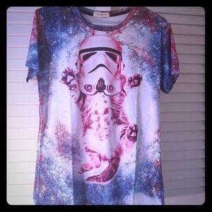 Tops - ✨NEW✨ Kitten Star Wars Storm Trooper Shirt